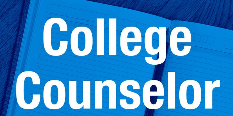 College Counselor Graphic