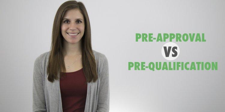 Pre-Approval vs Qualification