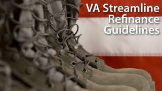 VA Streamline Refinance (IRRRL) mortgage guidelines